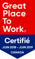 Great Place to Work 2018 2019 Canada logo png