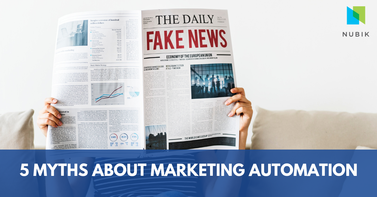 5 myths about marketing automation