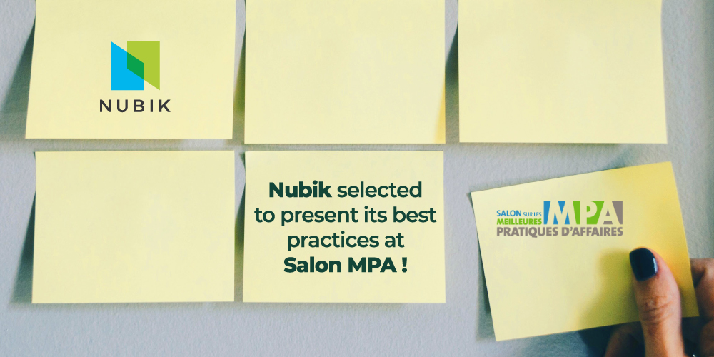 NUBIK SELECTED TO PRESENT ITS BEST PRACTICES AT SALON MPA