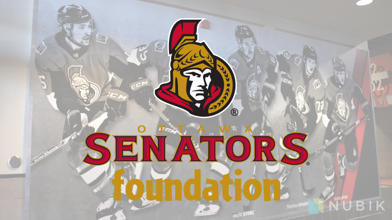 The ottawa senators foundation success story with Nubik using Salesforce