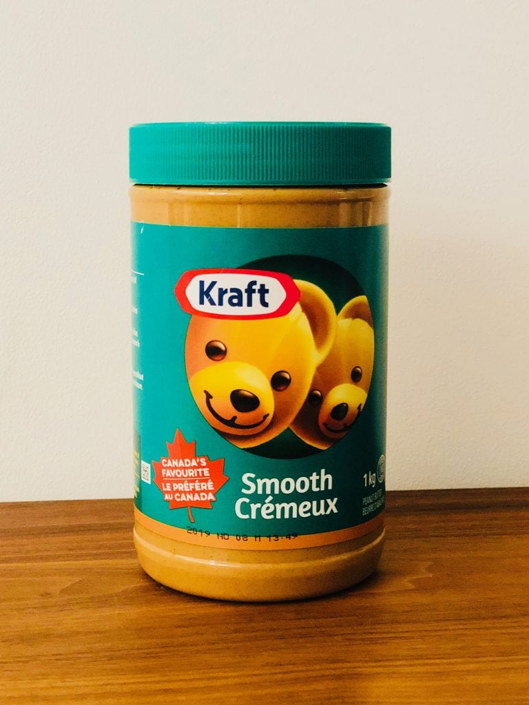 Canada for Kids: Tub of Bilingual Peanut Butter
