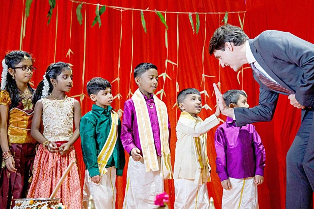 Canada for Kids: Prime minister of Canada at a Tamil Heritage Month Celebration