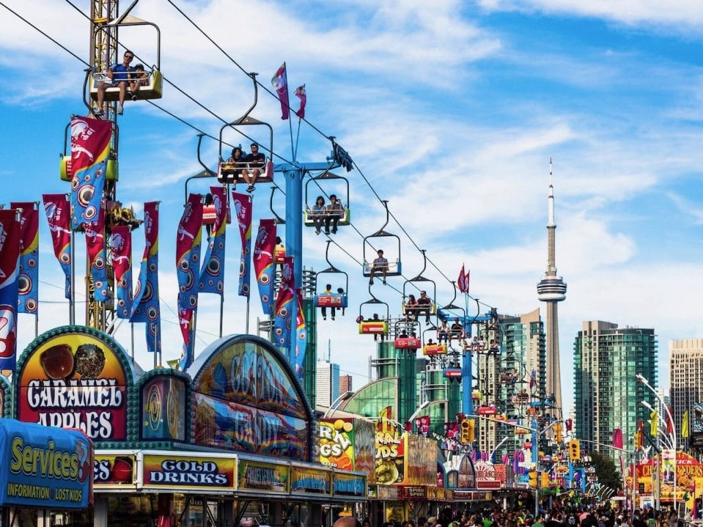 Canada for Kids: CNE in the summer
