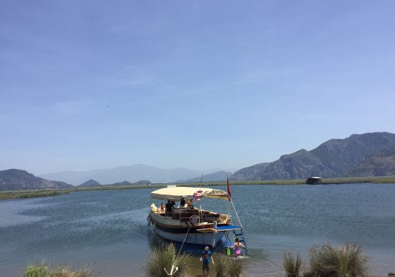 A Dalyan Day Trip: Boats, Beaches, Blue Crabs and Mud Baths