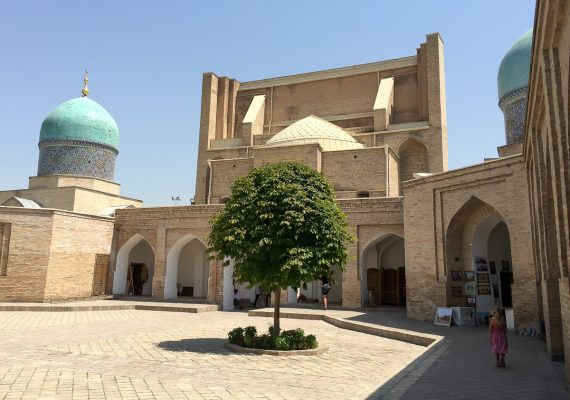 A Bit of Everything in Tashkent with Kids