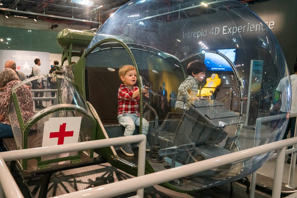 Things to do in NYC with Kids: Inside a real helicopter