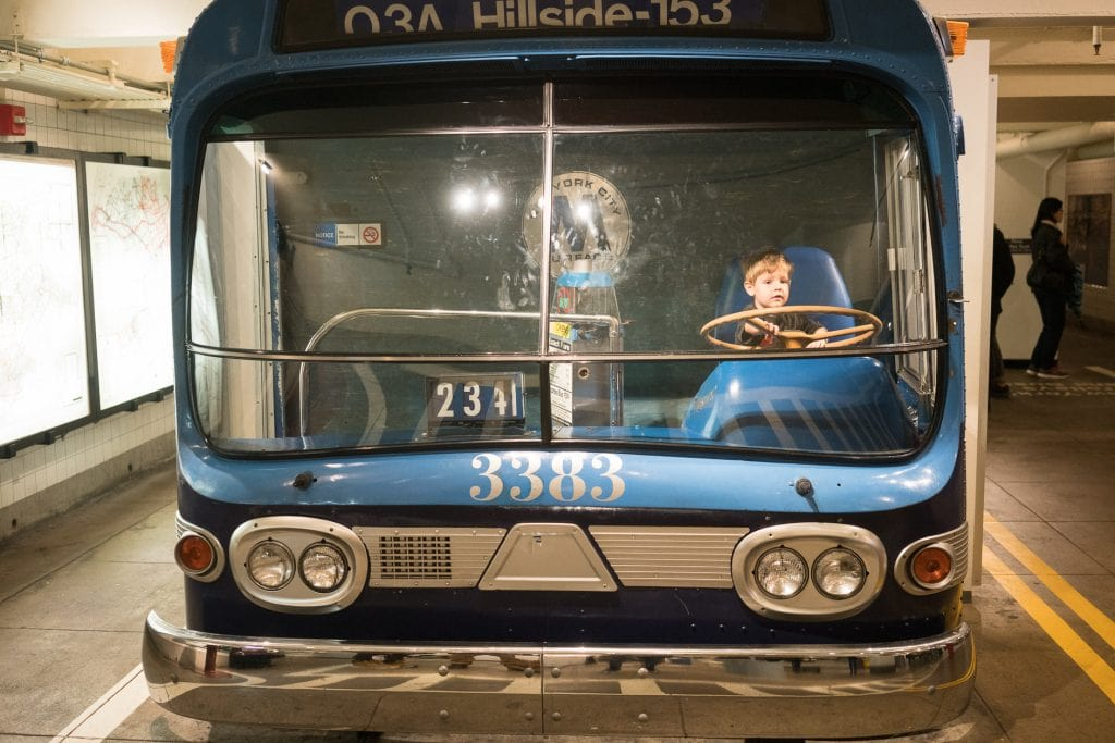 Things to do in NYC with Kids: NY Transit Museum