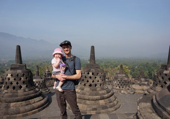 Exploring the Historic Temples in Yogyakarta with Kids