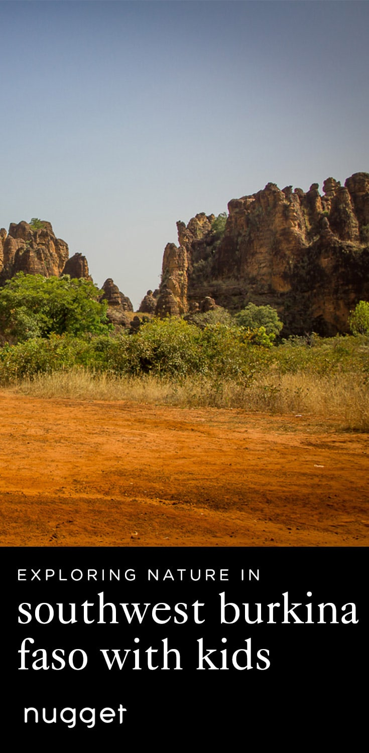A Quiet Day Exploring Nature in Southwest Burkina Faso with Kids