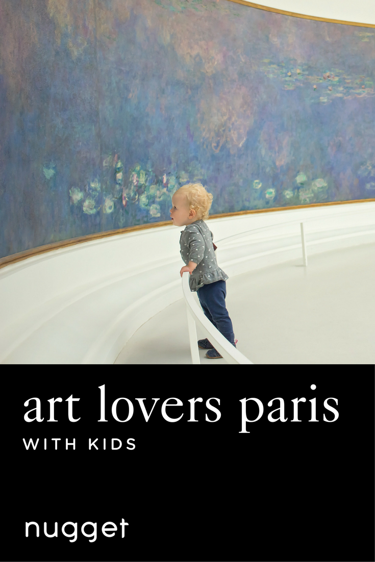 Paris with Kids for Art Lovers