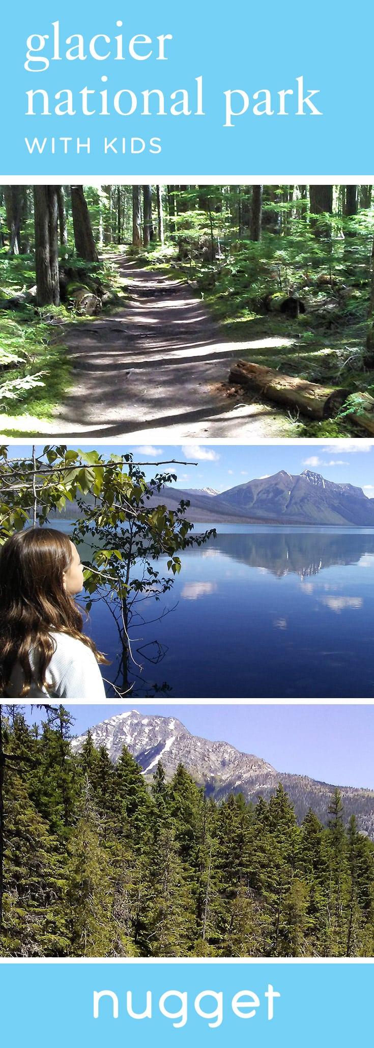 Glacier National Park: Skipping Stones at Lake McDonald