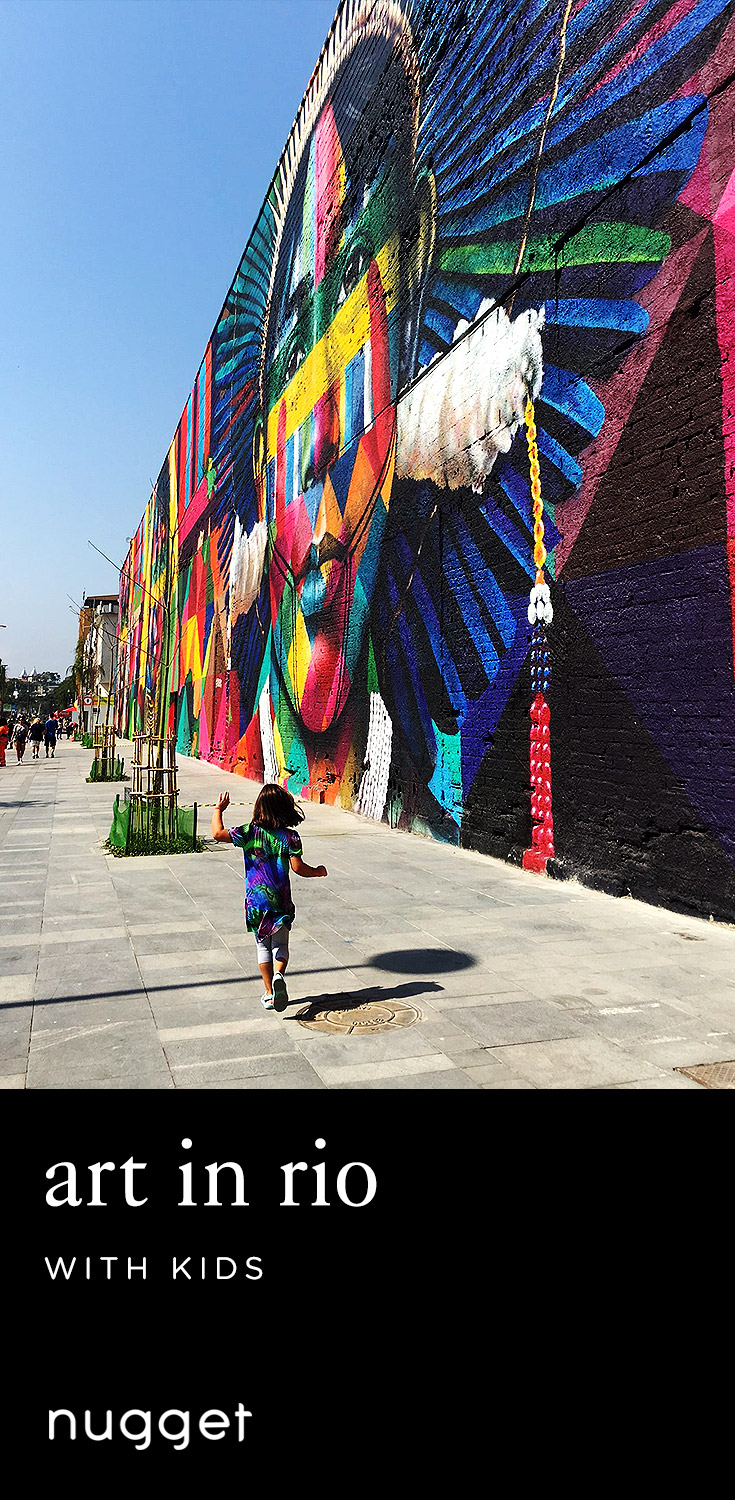 Rio with Kids: Street Art and Cultural Diversity
