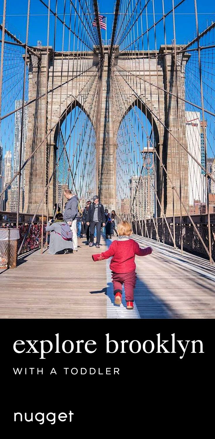 Brooklyn With Kids: The Bridge, Playgrounds and Grilled Cheese