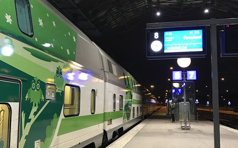 Santa Claus Express night train