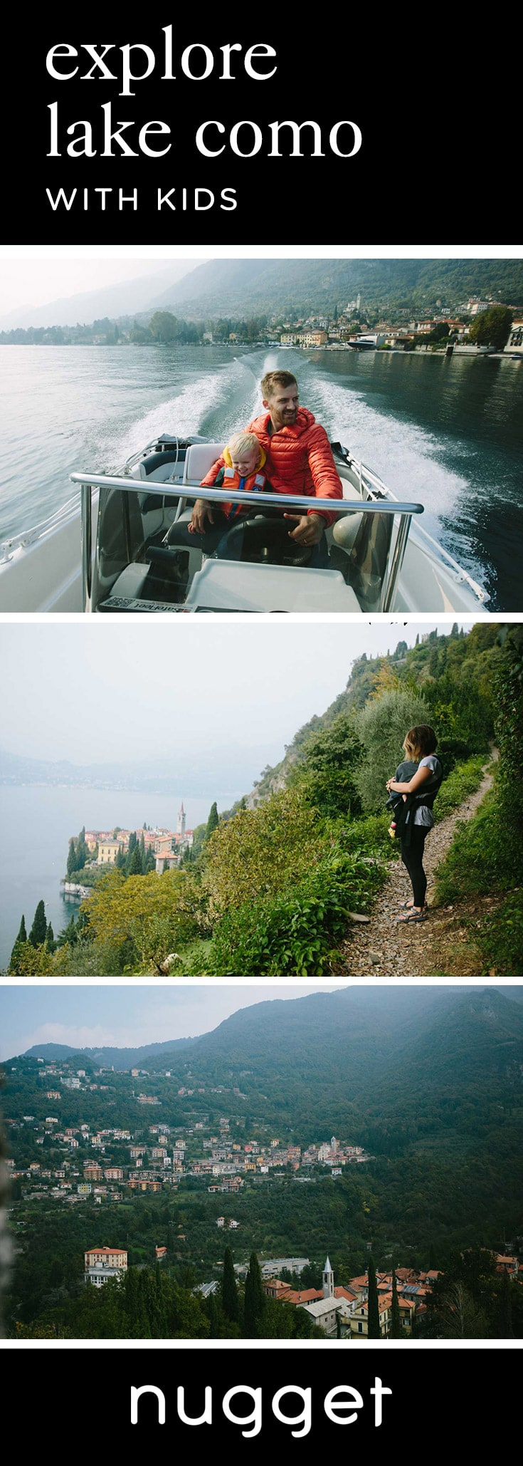 A Day at Lake Como: A Castle, Boat Ride and Pizza