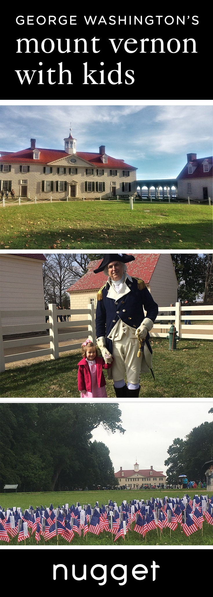 At George Washington's Mount Vernon with Kids