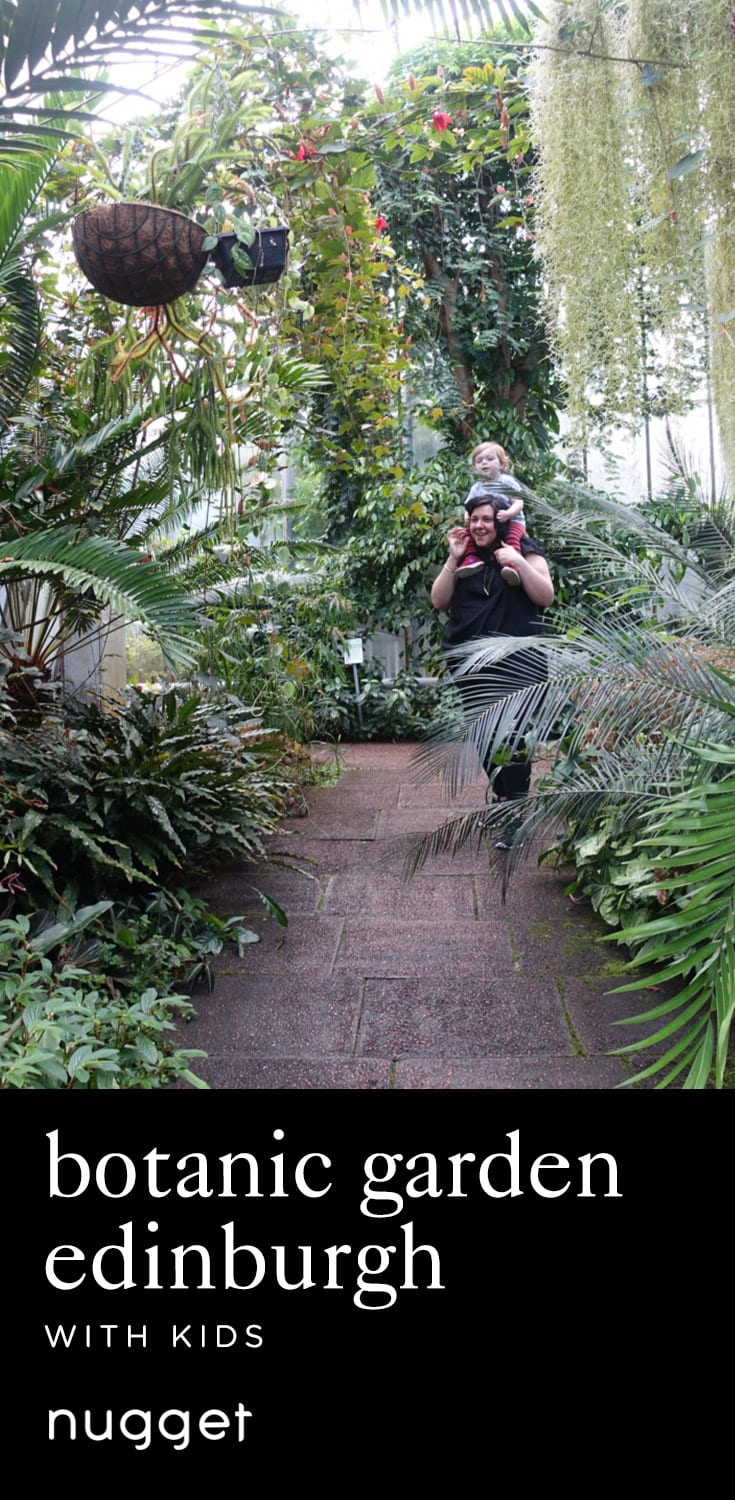 Green Fun at the Botanic Garden Edinburgh