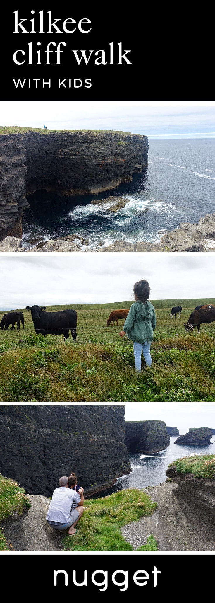 Kilkee Cliff Walk With Kids