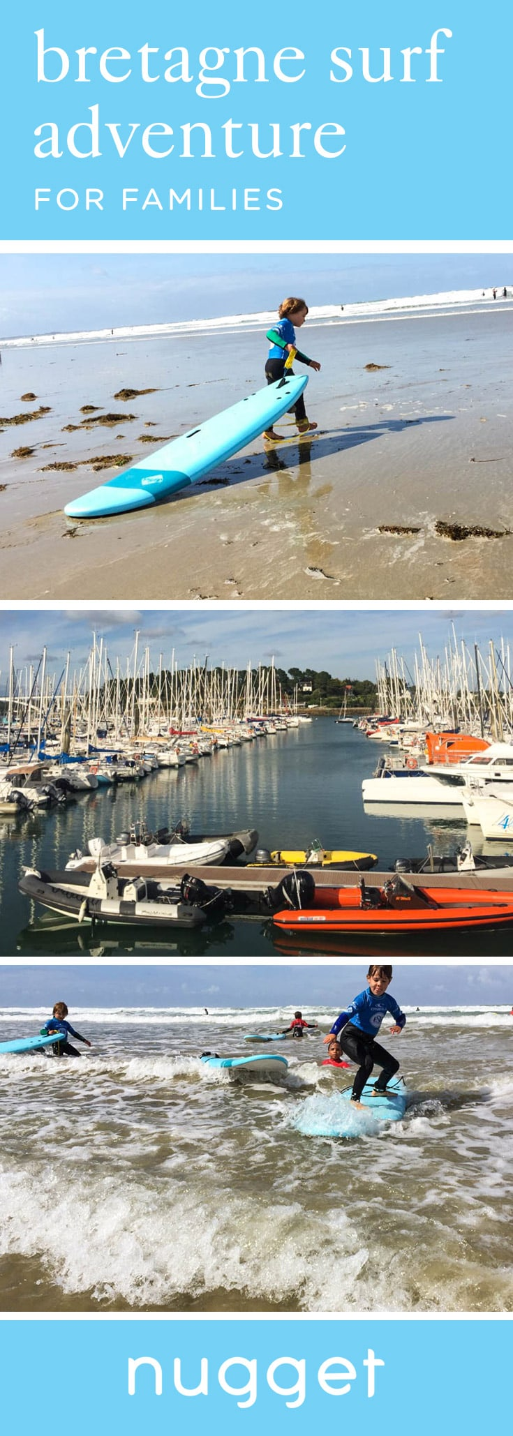 Bretagne with Kids: Surfing and Fishing Villages