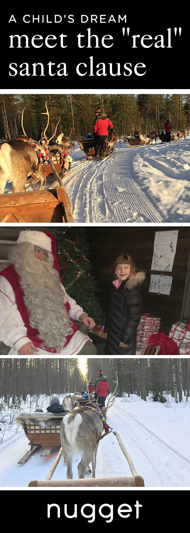 "Visit Lapland and the ""Real"" Santa Claus Village"