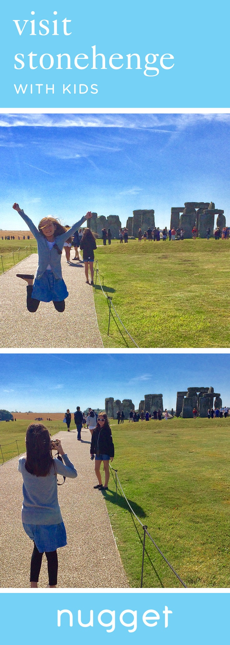 Visiting Stonehenge for the First Time with Kids