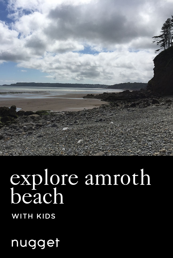 Amroth Beach: A Taste of the Welsh Coastline