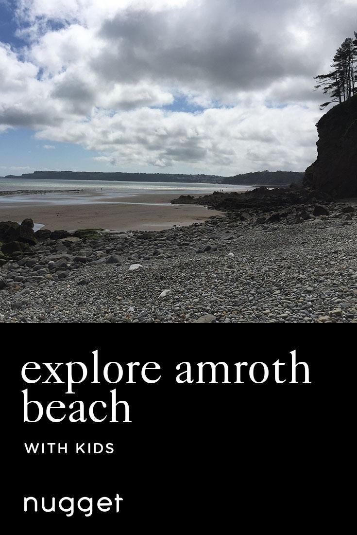 Amroth Beach: A Taste of the Welsh Coastline