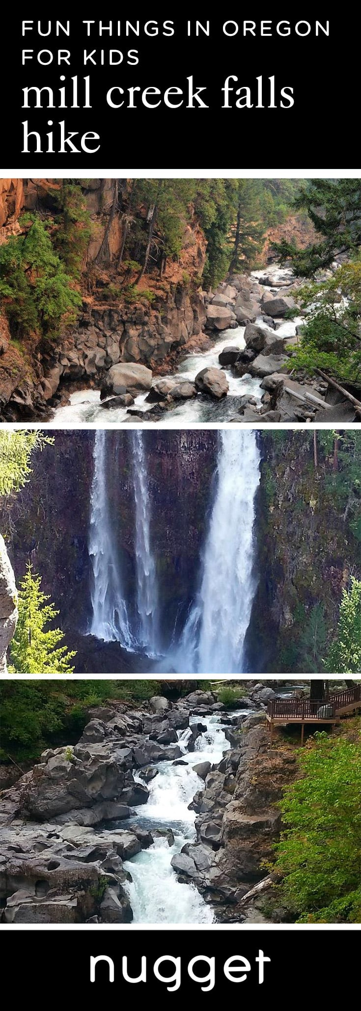 3 Easy Kid-Friendly Waterfall Hikes in Prospect, Oregon