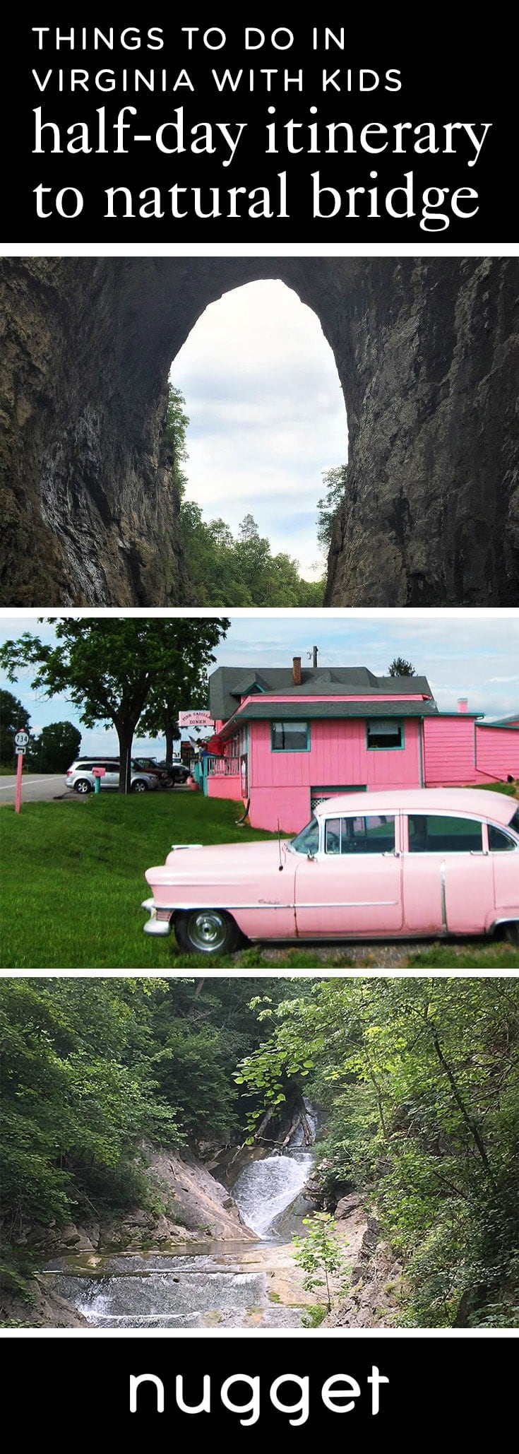 A '50s Diner and Nature at Natural Bridge, Virginia