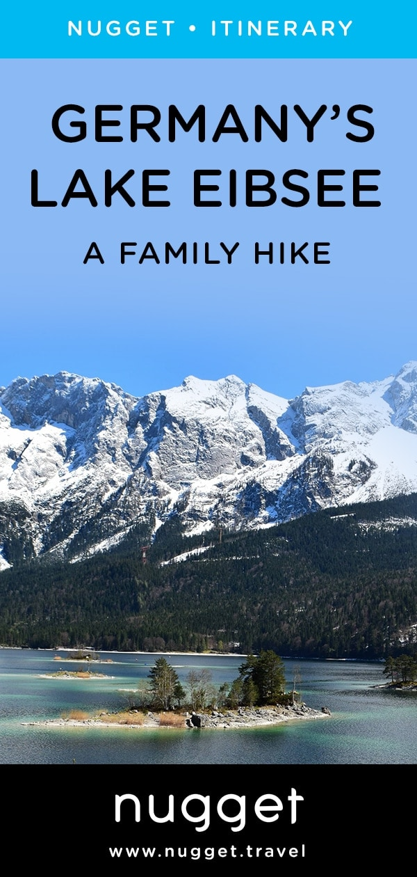A Hike Around Germany's Lake Eibsee with Kids