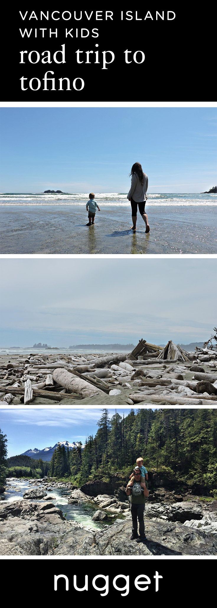 A Toddler's Road Trip to Tofino