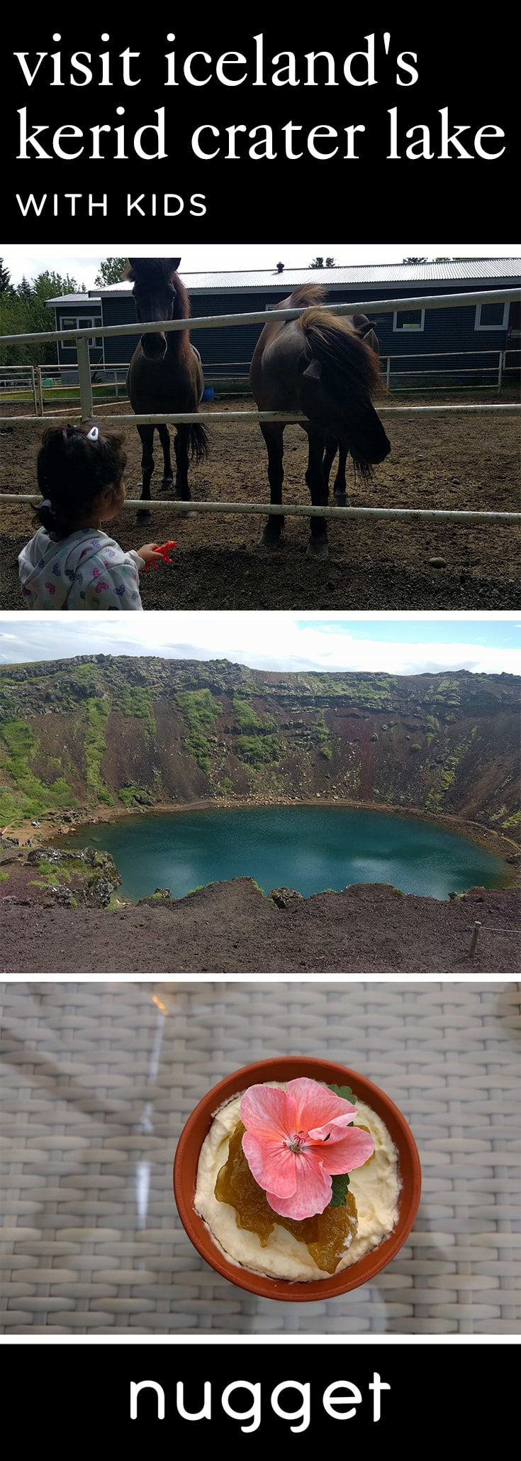 Kerid Crater Lake: Exploring Iceland With Kids