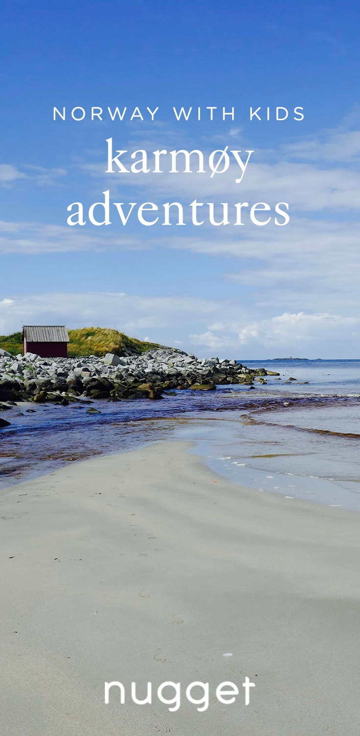 Norway with Kids: Adventure on The Island of Karmøy