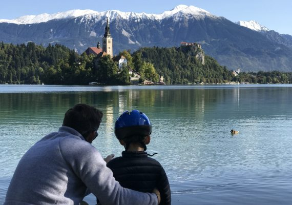Lake Bled Holidays with Kids: Exploring Bled by Bike