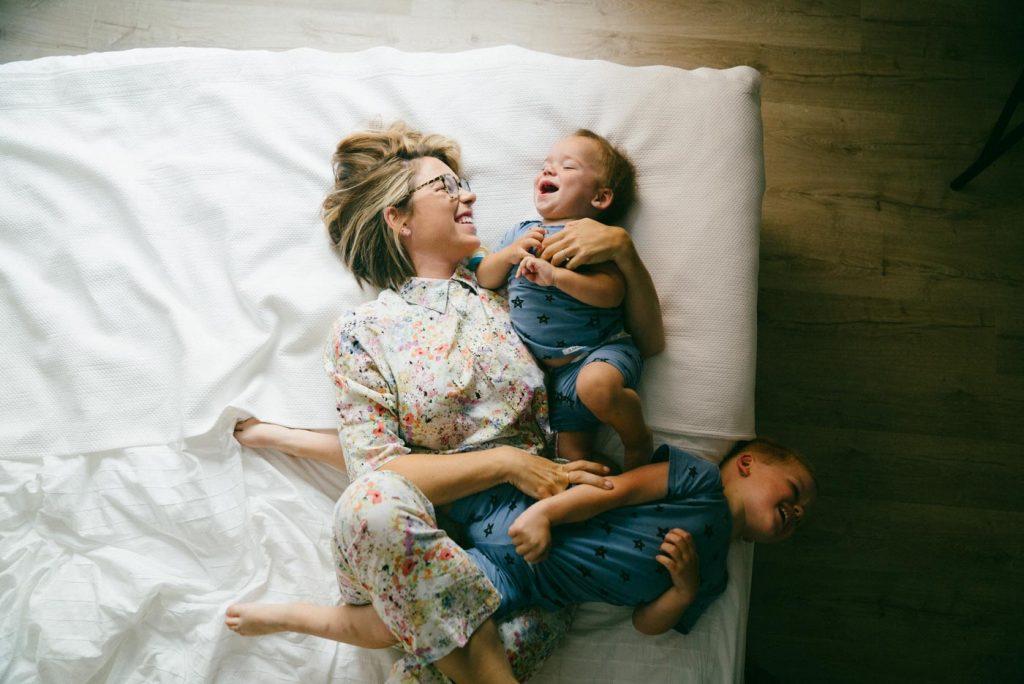 family travel kids laughter