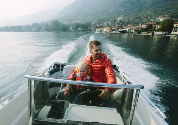 A Day at Lake Como: A Castle, Boat Ride, and Pizza