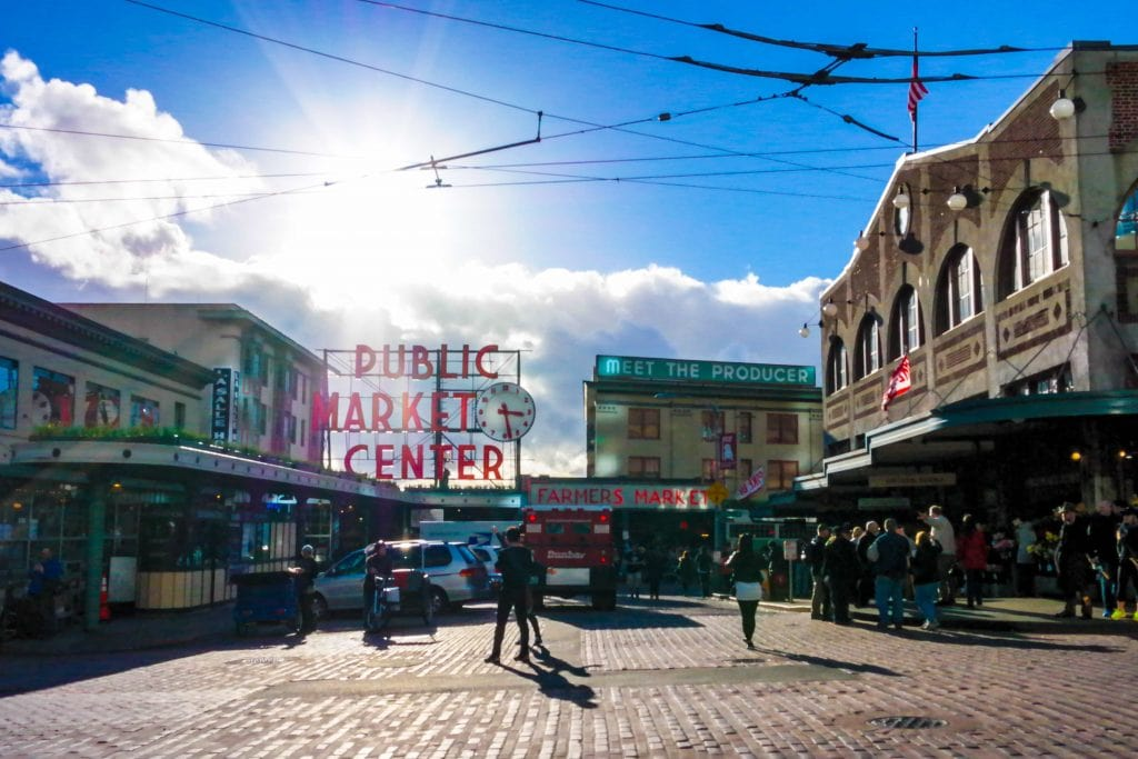 Things for kids to do in Seattle: Pike Place.