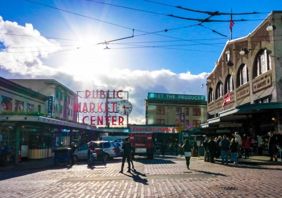 Explore Seattle's Pike Place Farmers Market with Kids