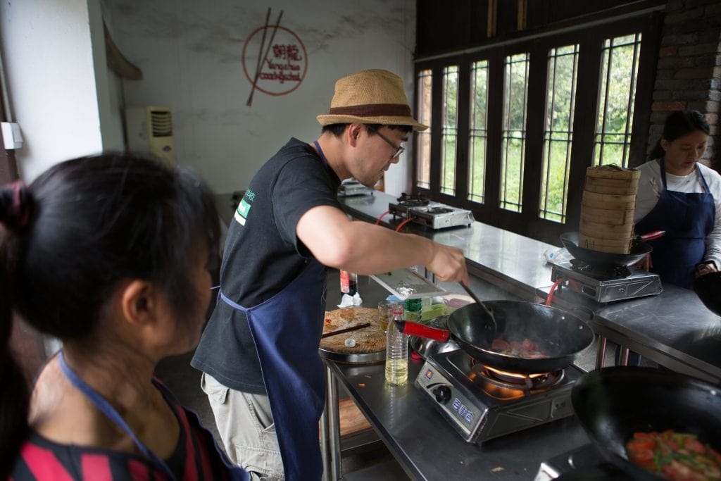 Guangxi with kids: Yangshuo Cooking School.