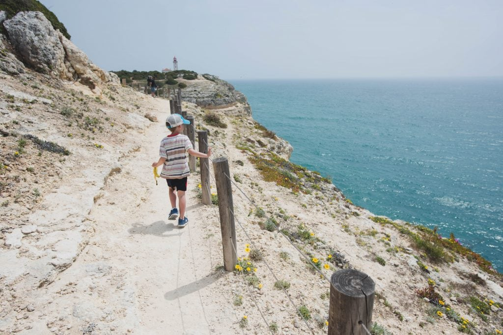 Hiking the trail Best place in algarve for families