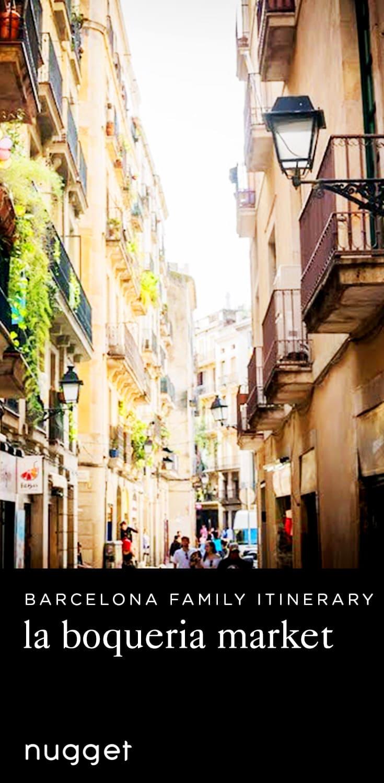 Tasting the Culture in Barcelona at La Boqueria Market
