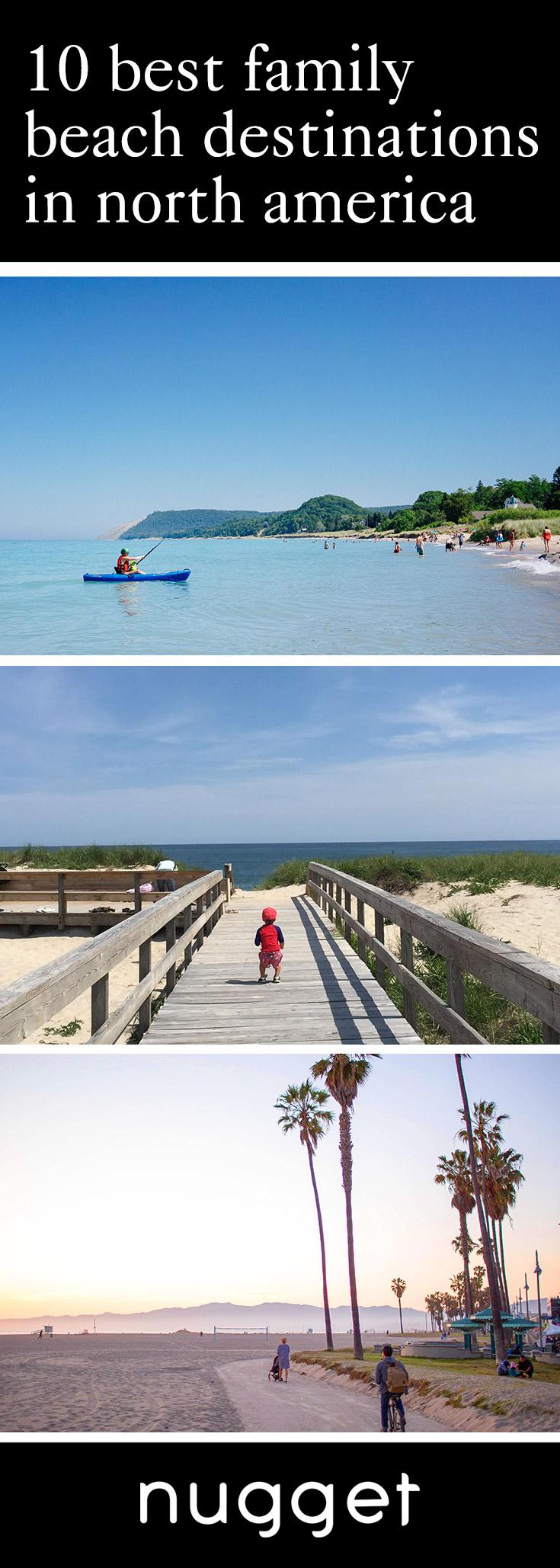 10 Best Family Beach Destinations in North America