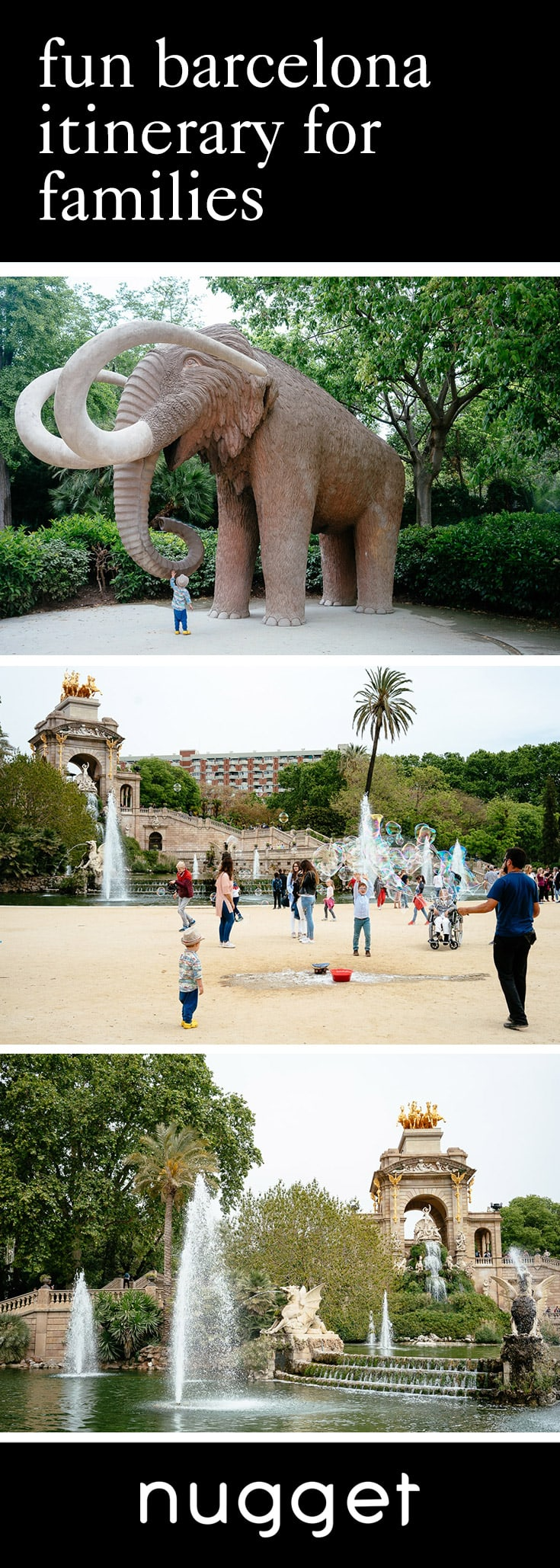 Barcelona for Kids: Ciutadella Park and Paella