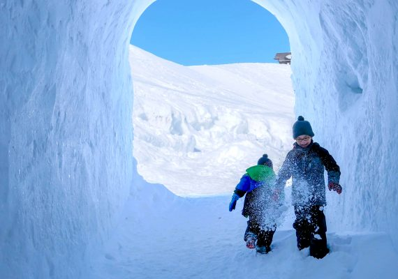 Family Fun in Switzerland: Fondue in an Igloo