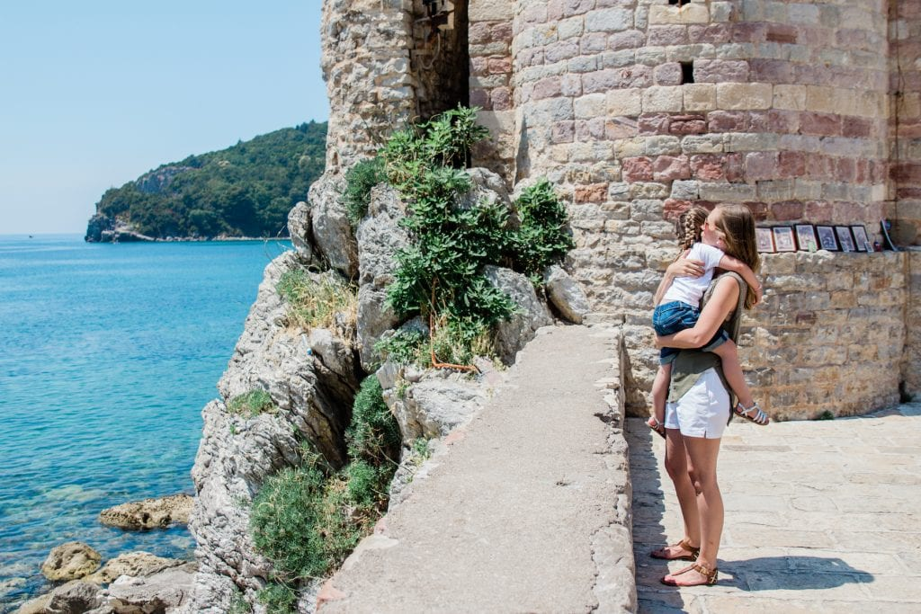 A walk along the Budva coast makes for a great afternoon activity