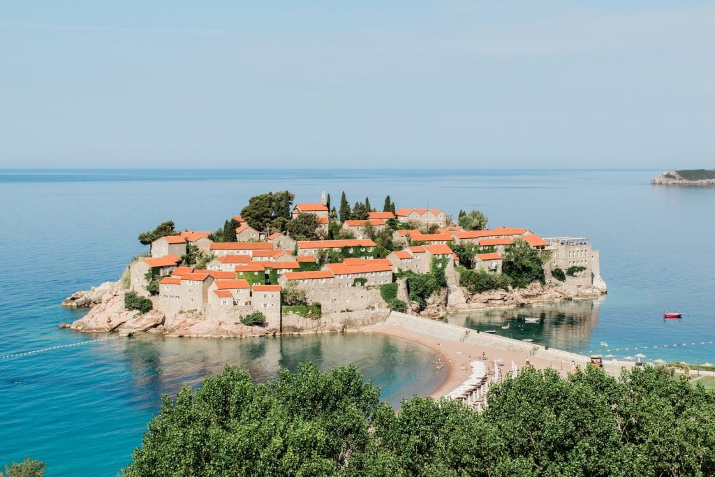 Sveti Stefan is a must-see while in Montenegro