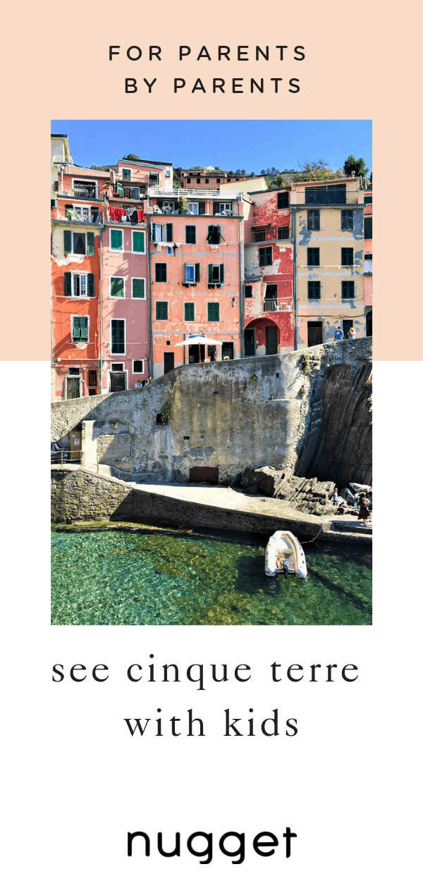 Cinque Terre With Kids: Boat Ride, Hiking and Stunning Views