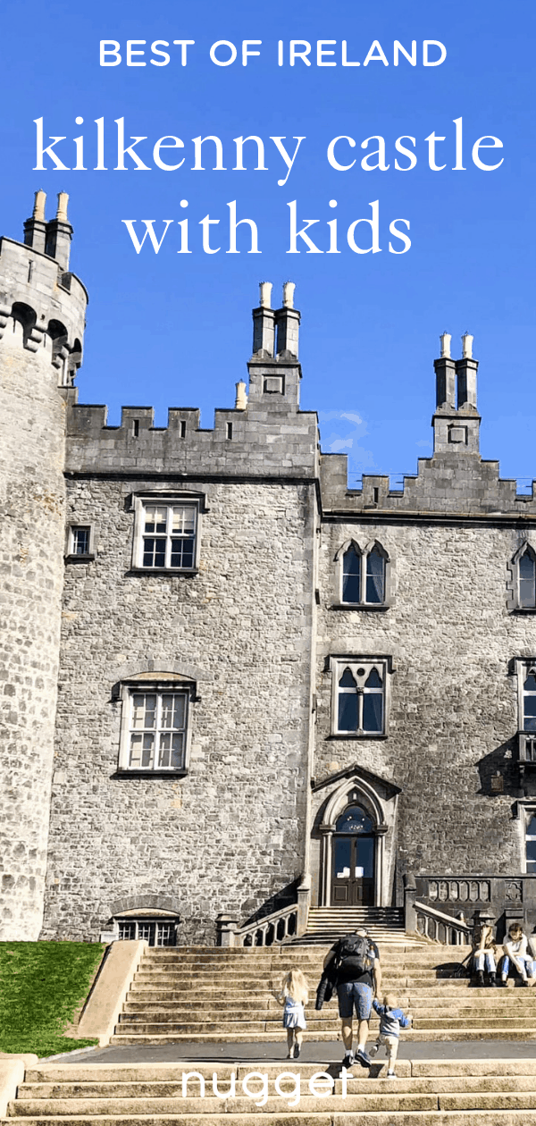 Discover Ireland's Beautiful Kilkenny Castle With Kids