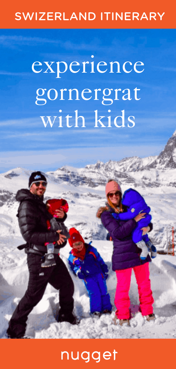 Switzerland With Kids: A Unique Day in Zermatt