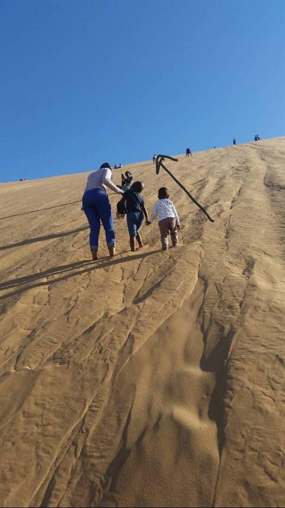 Africa for Kids: Climbing Dune 7